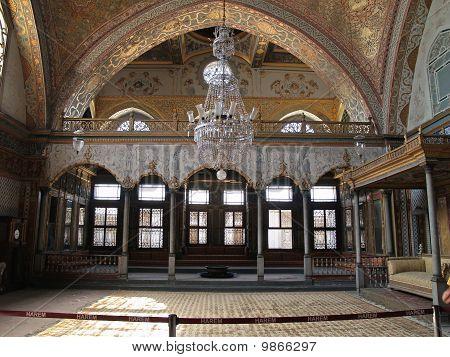 Harem At The Topkapi Palace In Istanbul, Turkey
