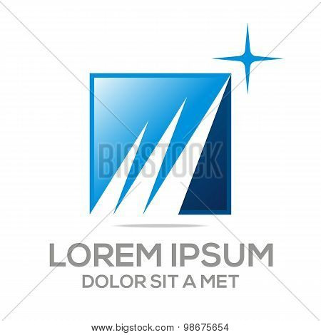 Logo abstract element icon vector