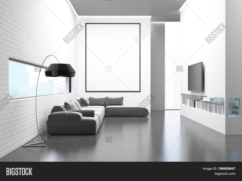 White Brick Wall Image & Photo (Free Trial) | Bigstock