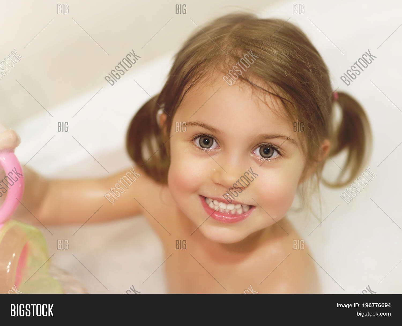 Photo Cute Baby Girl Image Photo Free Trial Bigstock