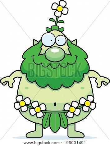 Happy Cartoon Forest Sprite