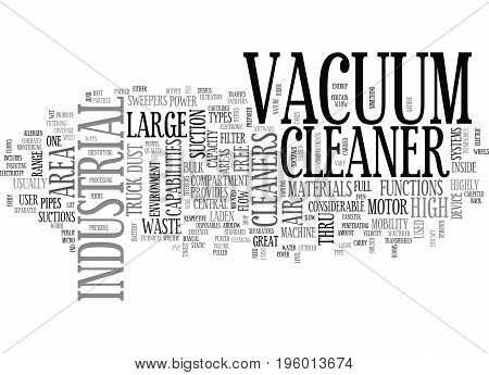 A HIGH END CLEANER MACHINE TEXT WORD CLOUD CONCEPT