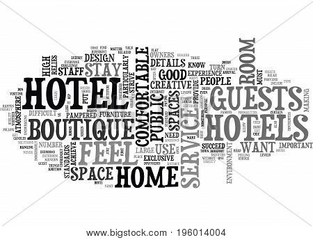 A HOME FROM HOME HOTEL TEXT WORD CLOUD CONCEPT