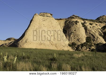 Escarpment on the Pawnee National Grasslands in Northeastern Colorado