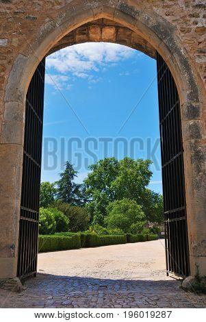 Castle Open Gate, Tomar, Portugal