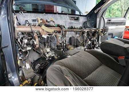 Dash Removal Auto Air Repair Parts HS Auto Air