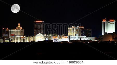 Atlantic City New Jersey skyline