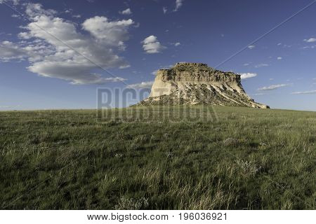 West Pawnee Butte on the Pawnee National Grassland in Northeastern Colorado.