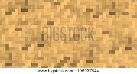 Bamboo weave, Basket texture background vector illustration.