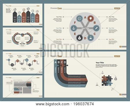 Infographic design set can be used for workflow layout, diagram, annual report, presentation, web design. Business and recruitment concept with process and bar charts.