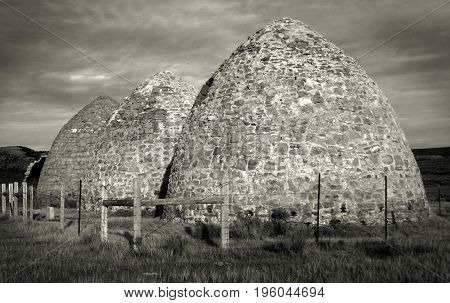 Charcoal Kilns near the ghost town of Piedmont Wyoming