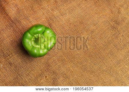 Green bell pepper. Vegetables