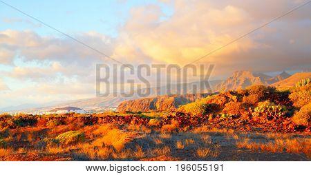 Sundown in Tenerife, Canary Islands
