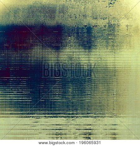 Designed background in grunge style. With different color patterns: yellow (beige); gray; blue; purple (violet); cyan