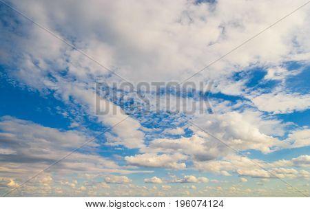 Cloudy Outdoor Summer Heavens
