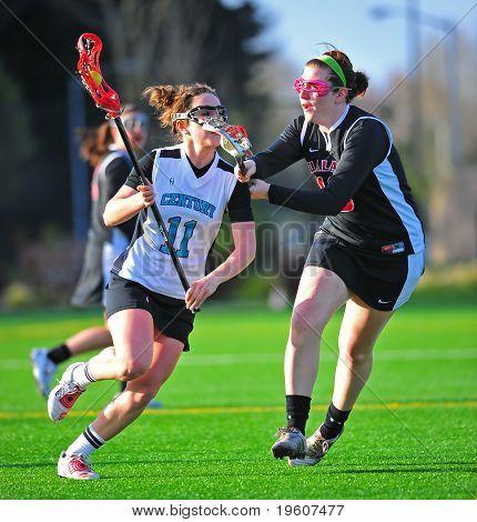 Lacrosse girls defense