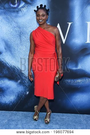 LOS ANGELES - JUL 12:  Adina Porter arrives for the Season 8 premiere of HBO's 'Game of Thrones' on July 12, 2017 in Los Angeles, CA