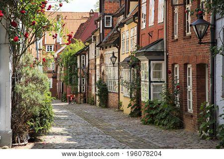 Walking in Lueneburg, Germany