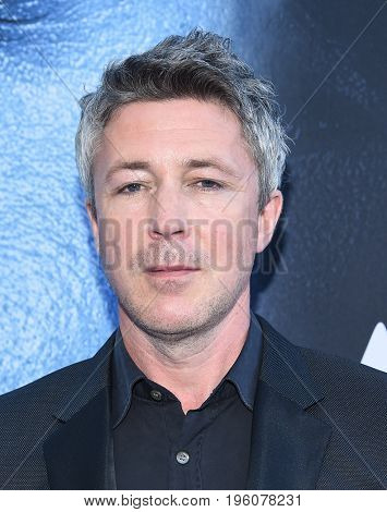LOS ANGELES - JUL 12:  Aidan Gillen arrives for the Season 8 premiere of HBO's 'Game of Thrones' on July 12, 2017 in Los Angeles, CA