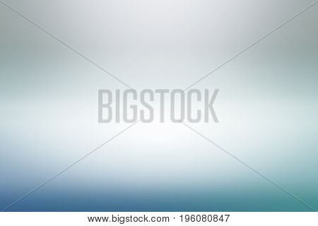 Empty Blue White Studio Backdrop, abstract, gradient grey background for design