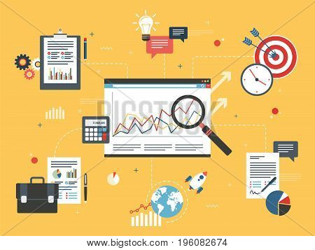 Financial Investment, Analytics With Growth Report.