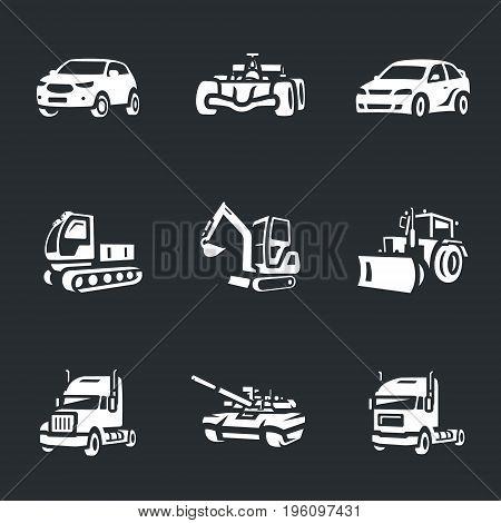 Auto, racing car, racing car, all-terrain vehicle, excavator, tractor, truck, tank.