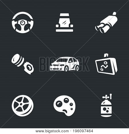 Steering wheel, chair, exhaust pipe, piston, car, navigator, wheel, palette, nitro.