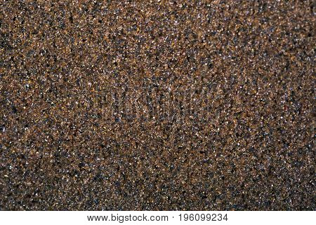Background from surface of abrasive paper close up
