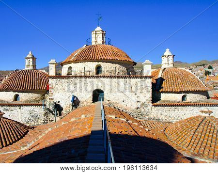 Accessible rooftop of San Francisco Convent, Potosi, Bolivia, South America