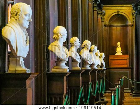 Trinity College Is One Of The Seven Ancient Universities Of Britain And Irelan. Dublin, Ireland
