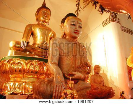 Gold Buddha, Jade Buddha