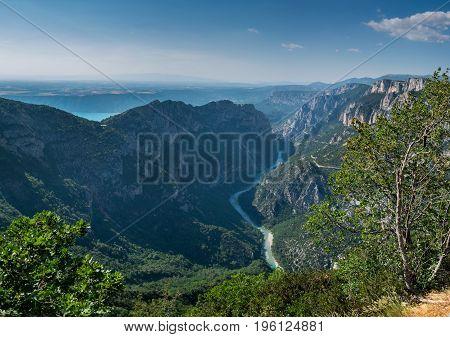 Gorges du Verdon, Alpes de Haute, Provence France