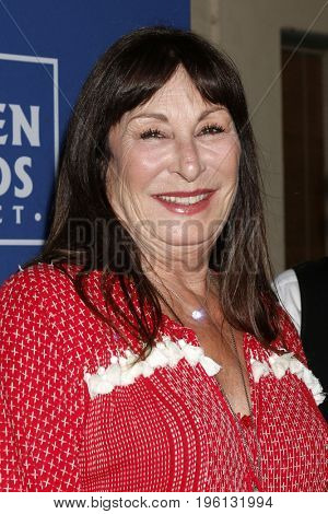 LOS ANGELES - July 17:  Anjelica Huston at the Oceana Presenst: Rock Under The Stars With Don Henley And Friends at the Private Residence on July 17, 2017 in Los Angeles, CA