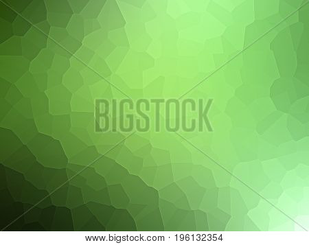 Green Background Abstract Geometric Design Graphic Soft