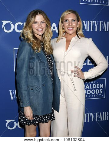 LOS ANGELES - July 17:  Brooklyn Decker, June Diane Raphael at the Rock Under The Stars With Don Henley And Friends at a Private Residence on July 17, 2017 in Los Angeles, CA