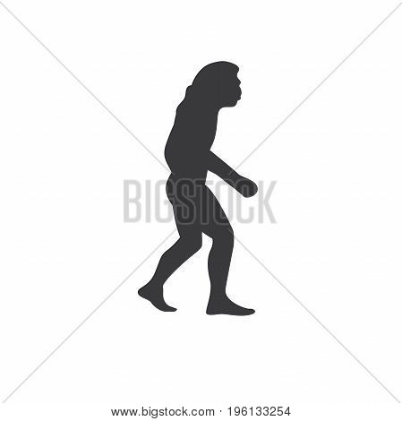 Ancestry or Genealogy Icon Caveman for medical records