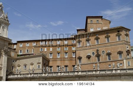 Vatican Apartments From Plaza