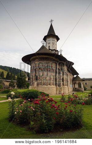 Sucevita orthodox monastery, Bucovina, UNESCO world heritage site