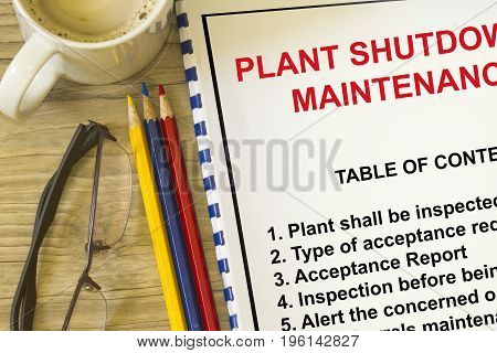 Plant maintenance turnaround- rmany uses in the oil and gas industry.