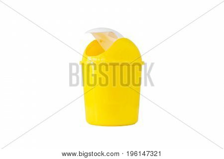 Plastic trash isolated on white background-with clipping path.