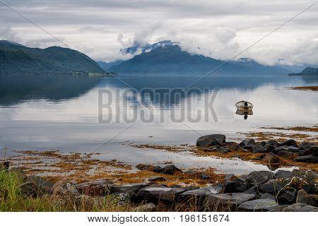 Fog Over Fjord