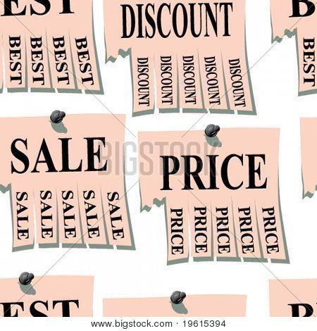 Sticker. Seamless illustration.