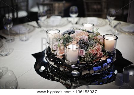 Wedding Guest Dining Table Decorations, Wedding Ceremony Dinner
