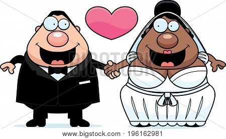 Cartoon Interracial Marriage