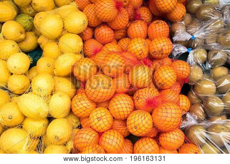Fresh fruit for sale at a local market