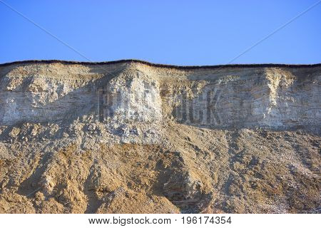 Rock Extraction Industry Concept