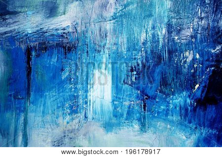 detail of abstract oil painted background, colorful artistic texture