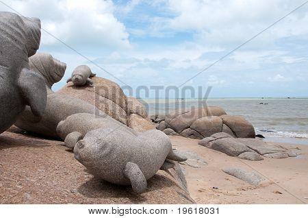 Dugong Sculpture