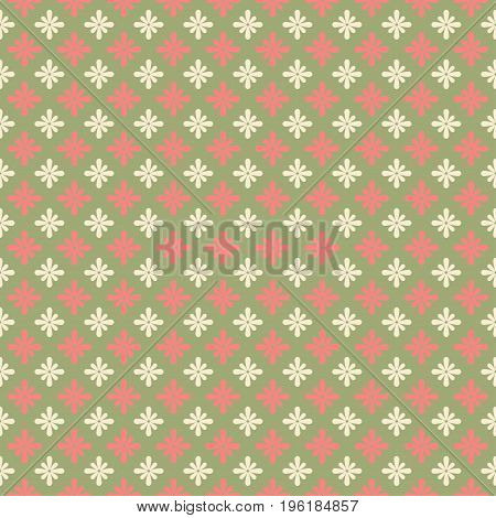 Flower pattern. Seamless floral background. Elrgant petals