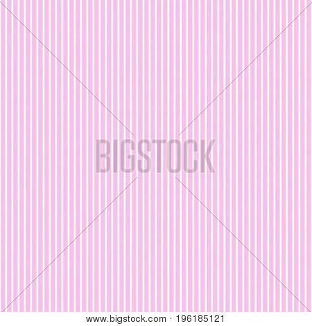 Pattern stripe seamless pink and white colors. Vertical pattern stripe abstract background vector.